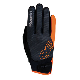 Roeckl Riga Bike Gloves orange/black